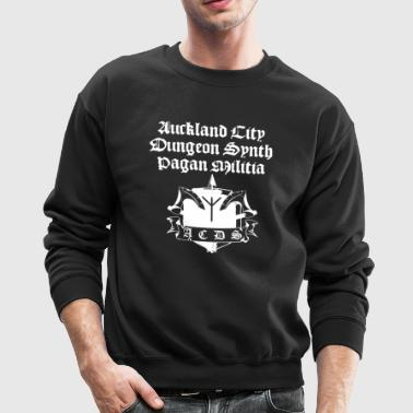 Auckland City Dungeon Synth Pagan Militia Crewneck - Crewneck Sweatshirt