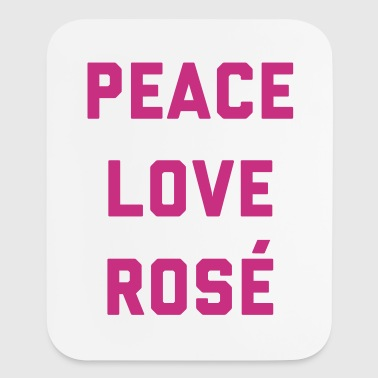 Peace Love Rosé Quote  Other - Mouse pad Vertical