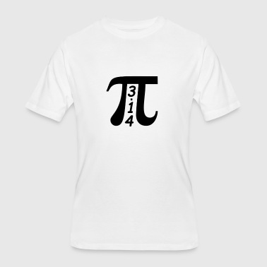 Pi Day - March 14 - 3/14 - Men's 50/50 T-Shirt
