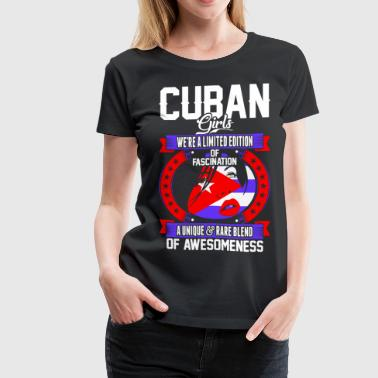 Cuban Girls Of Awesomeness T-Shirts - Women's Premium T-Shirt