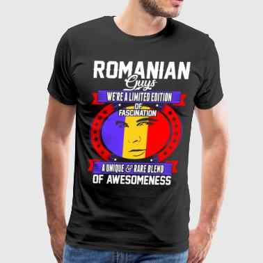 Romanian Guys Of Awesomeness T-Shirts - Men's Premium T-Shirt