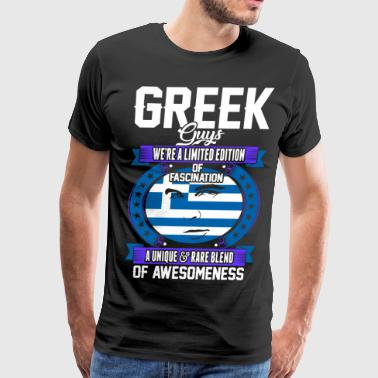 Greek Guys Of Awesomeness T-Shirts - Men's Premium T-Shirt