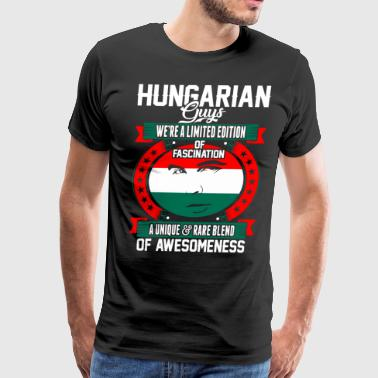 Hungarian Guys Of Awesomeness T-Shirts - Men's Premium T-Shirt