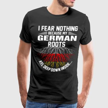 German Roots Are Deep Down Inside T-Shirts - Men's Premium T-Shirt