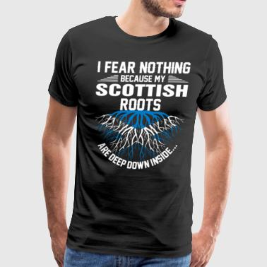 Scottish Roots Are Deep Down Inside T-Shirts - Men's Premium T-Shirt