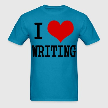 I Love Writing  - Men's T-Shirt