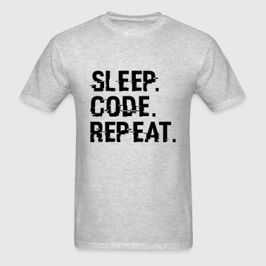 Sleep Code Repeat - Men's T-Shirt