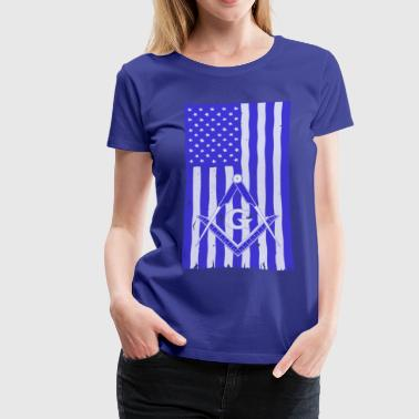 Blue lodge matters 1 - Women's Premium T-Shirt