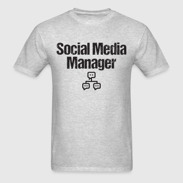Social Media Manager BLK T-Shirts - Men's T-Shirt