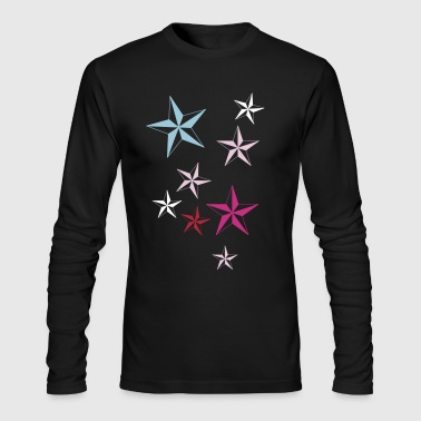 BLAZING STAR 2 - Men's Long Sleeve T-Shirt by Next Level