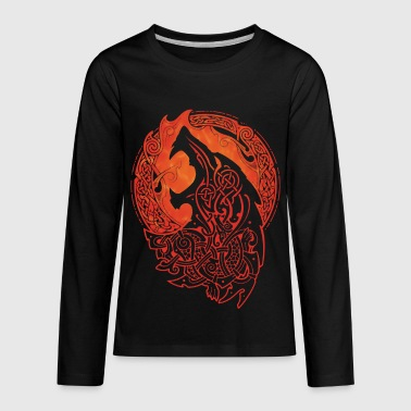 FENRIR. LOKI'S SON. - Kids' Premium Long Sleeve T-Shirt