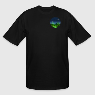 Project Blue Book Small Circle - Men's Tall T-Shirt