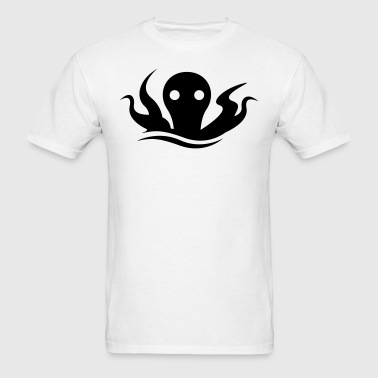 Giant Sea Octopus Monster Silhouette T-Shirts - Men's T-Shirt