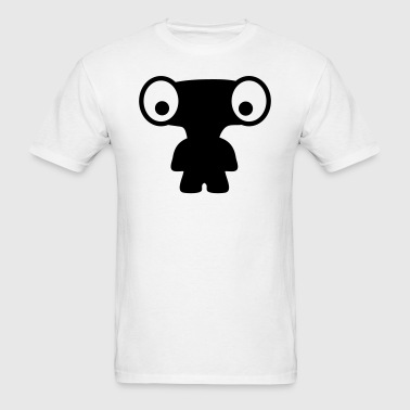 Wide Head Baby Alien Silhouette T-Shirts - Men's T-Shirt