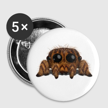 Tigger the Jumping Tiger Spider Buttons - Large Buttons