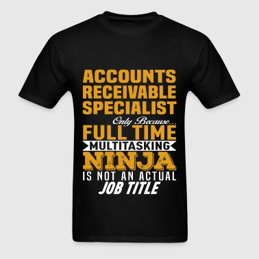 Accounts Receivable Specialist - Men's T-Shirt