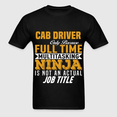 Cab Driver - Men's T-Shirt