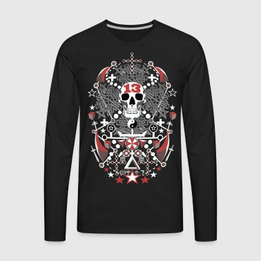 Gothic Templar Voodoo 13 and beyond - Men's Premium Long Sleeve T-Shirt