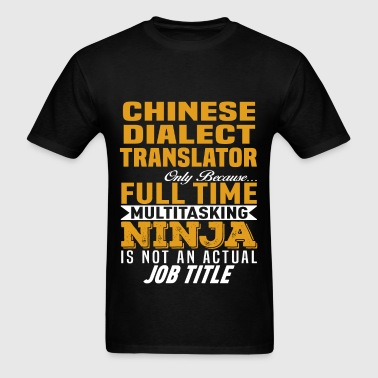 Chinese Dialect Translator - Men's T-Shirt
