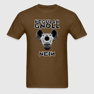 Regular Gnoll - Nein - Men's T-Shirt