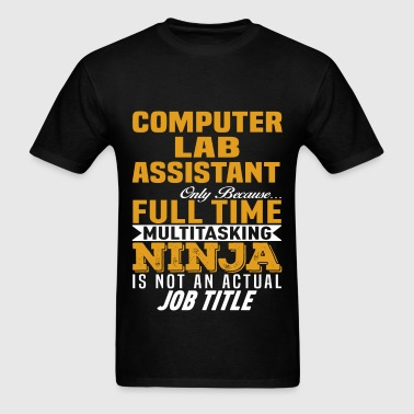 Computer Lab Assistant - Men's T-Shirt