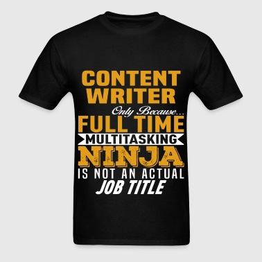Content Writer - Men's T-Shirt