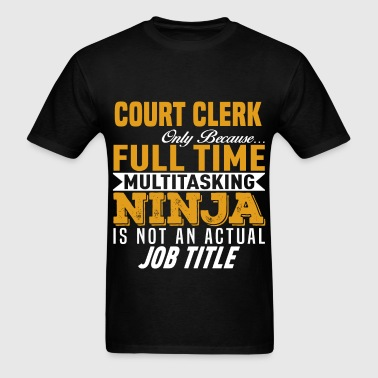 Court Clerk - Men's T-Shirt