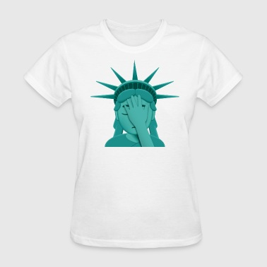 Facepalm StatueOfLiberty T-Shirts - Women's T-Shirt