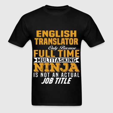 English Translator - Men's T-Shirt