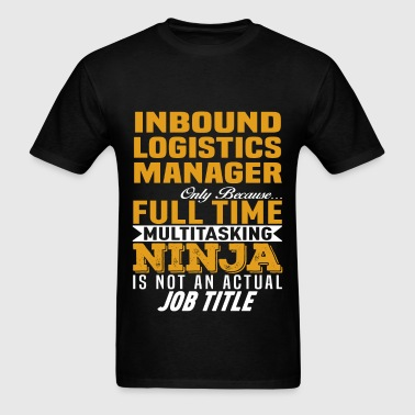Inbound Logistics Manager - Men's T-Shirt