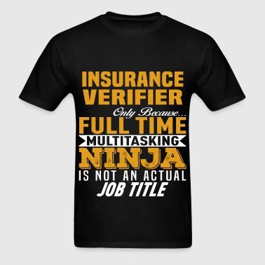 Insurance Verifier - Men's T-Shirt
