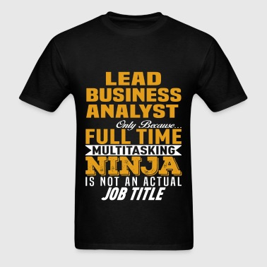 Lead Business Analyst - Men's T-Shirt
