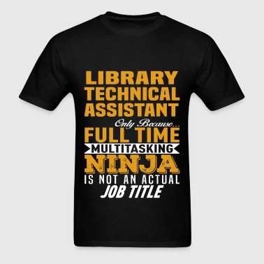 Library Technical Assistant - Men's T-Shirt
