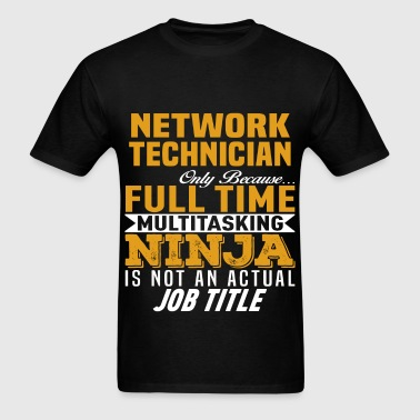 Network Technician - Men's T-Shirt