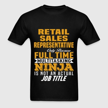 Retail Sales Representative - Men's T-Shirt