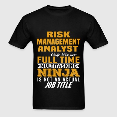 Risk Management Analyst - Men's T-Shirt