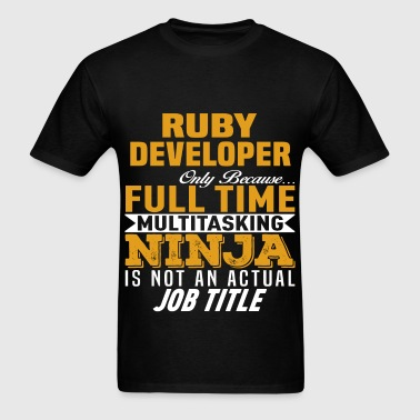 Ruby Developer - Men's T-Shirt