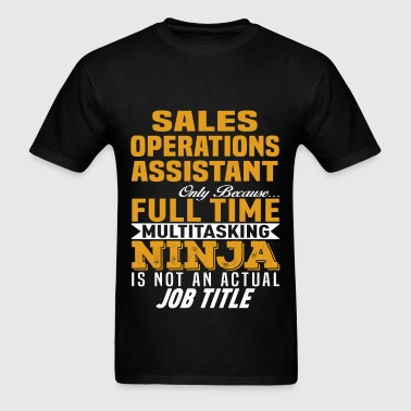 Sales Operations Assistant - Men's T-Shirt
