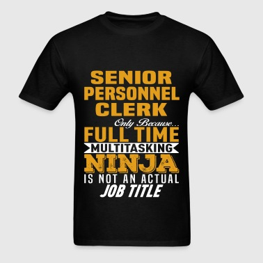 Senior Personnel Clerk - Men's T-Shirt