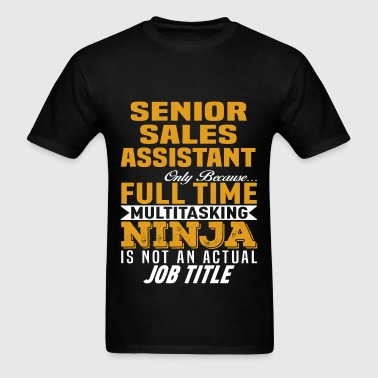Senior Sales Assistant - Men's T-Shirt
