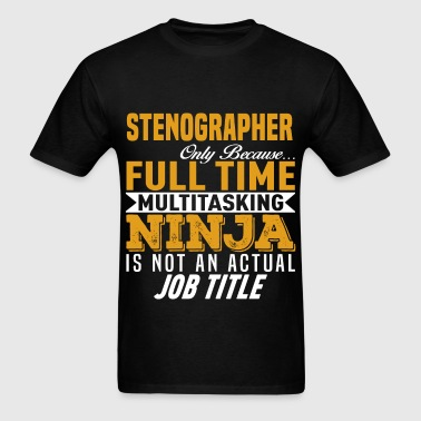 Stenographer - Men's T-Shirt