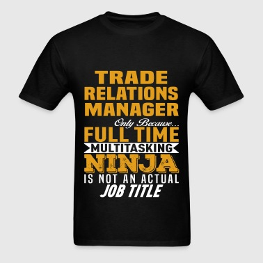 Trade Relations Manager - Men's T-Shirt