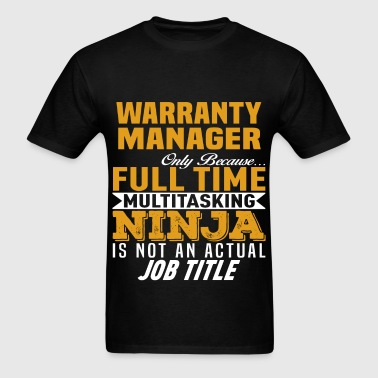 Warranty Manager - Men's T-Shirt