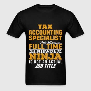Tax Accounting Specialist - Men's T-Shirt