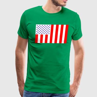United States Peacetime flag 76 - Men's Premium T-Shirt