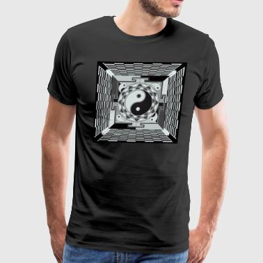THE PIT OF GOOD AND EVIL 1 - Men's Premium T-Shirt