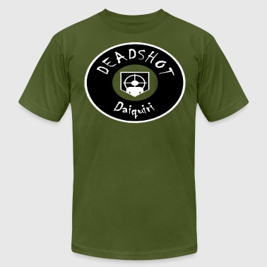 Deadshot Daiquiri (Black) - Men's Fine Jersey T-Shirt