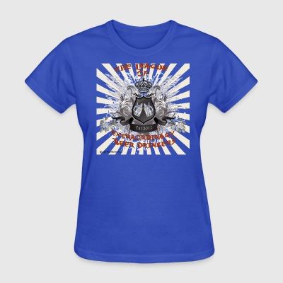 The League of Extraordinary Beer Drinkers Crest Wo - Women's T-Shirt