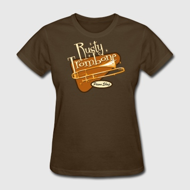 Rusty Trombone Pawn Shop - Women's T-Shirt