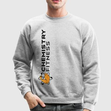 Chemistry Fitness Banner (black) Long Sleeve Shirts - Crewneck Sweatshirt